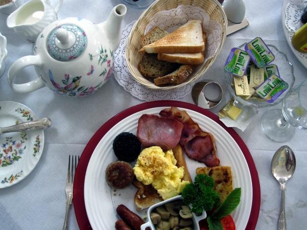 Ireland Hotel Breakfast