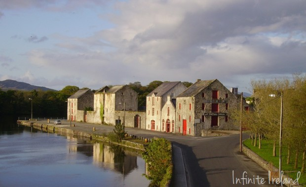 Buildings on the Quay Ramelton Co. Donegal