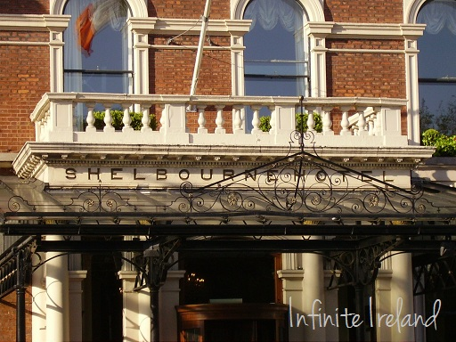 Exterior of the Shelbourne Hotel Dublin