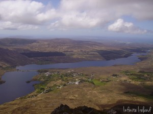 Top of Errigal Mountain Co. Donegal