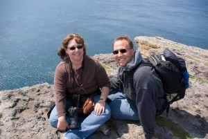 Kathy and Travis Nelson of Engaging Ireland
