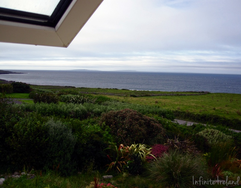 View from Orchid House B and B Fanore Co. Clare