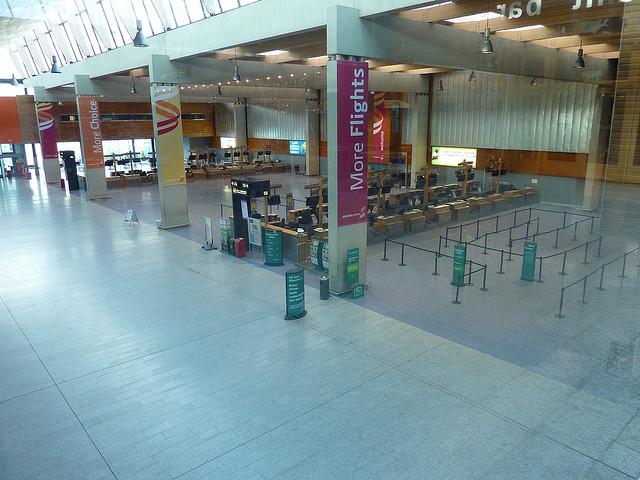 Shannon Airport Departures Area