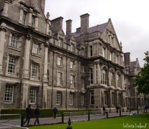 Trinity College Dublin Exterior