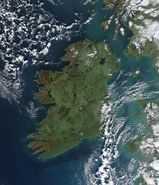 Aerial Map of Ireland