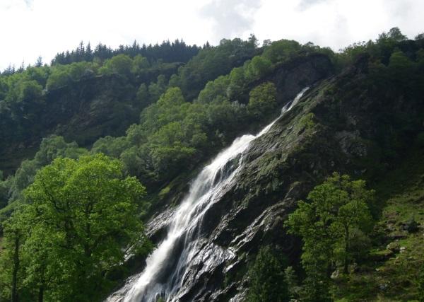 Powerscourt Waterfall, Co. Wicklow