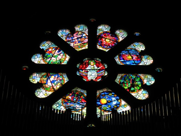 St. Finbarre's Church Stained Glass  and Organ