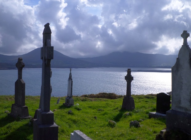 Kilcatherine Cemetery Stormy Skies