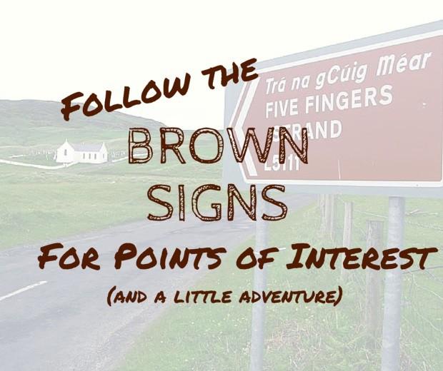 Irish Brown Signs