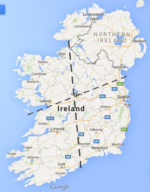 4 Regions of Ireland