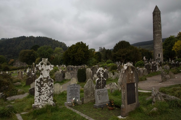 Glendalough Monastic Settlement, Wicklow