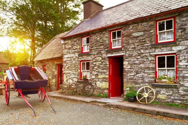 Irish Cottage Bike