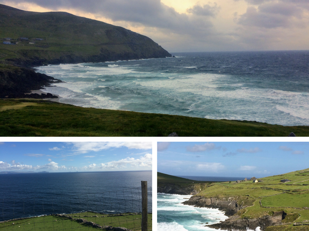 Coumeenole Pull Off Dingle Peninsula