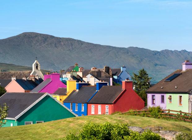 Eyeries Village, West Cork, Ireland