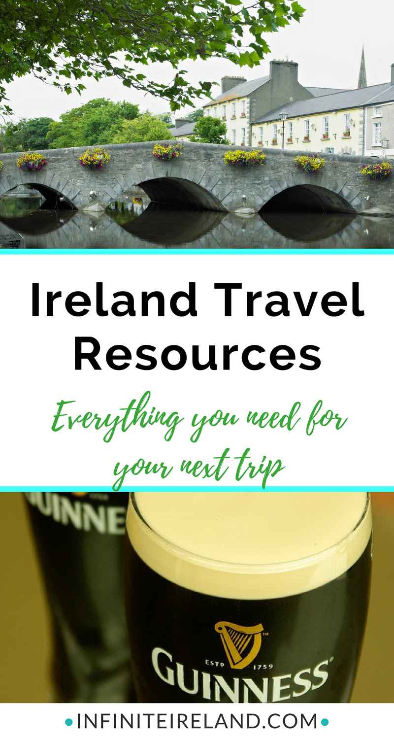When I started planning a trip to Ireland for the very first time, I didn't know what I would need to plan a trip. Now, I have dozens of sites bookmarked and items I've purchased over and over again. I decided to put it all together on this Ireland Resources page. Click here for all of the Ireland resources you need to plan your next trip.