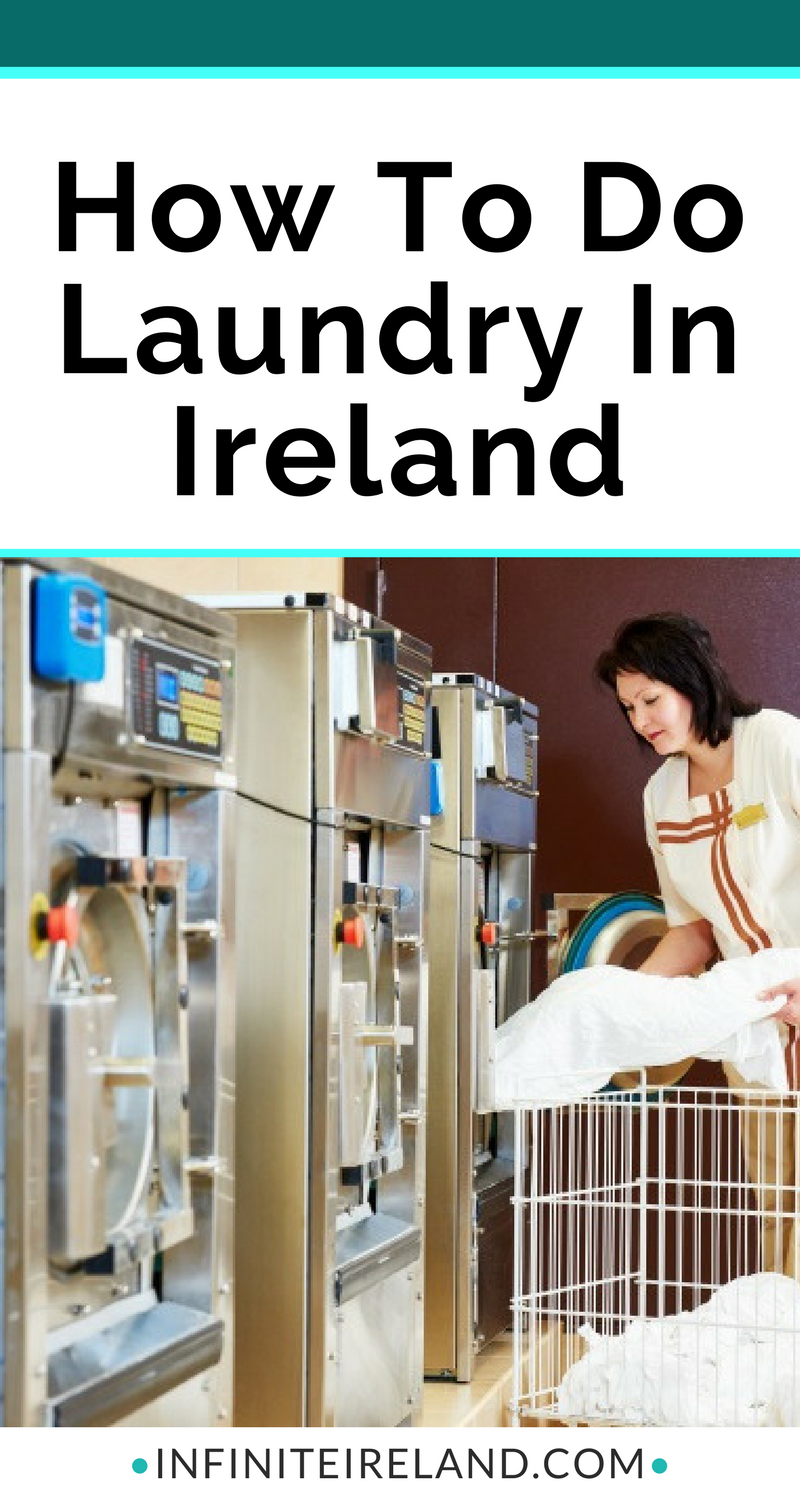 We pack for a week's worth of clothing regardless of how long we're in Ireland for. So this usually requires doing a wee bit of laundry in Ireland. Here are my tips to get your laundry done while traveling in Ireland!