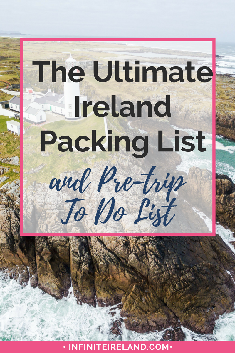 Are you about to travel to Ireland for the first time? Or, are you a seasoned traveler, but unsure of what to pack for your trip to Ireland? I have become a master packer! Get my ULTIMATE Ireland Packing List here.