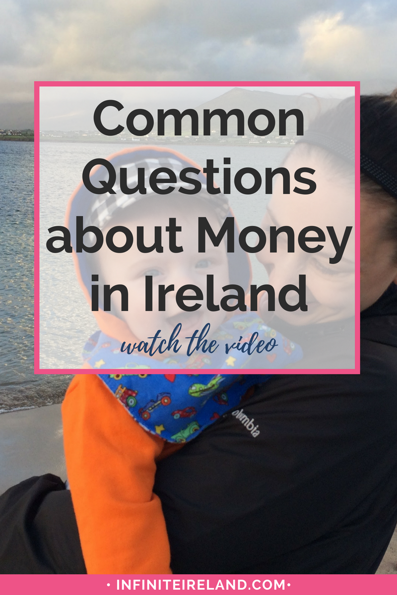 Have you been wondering how to handle money in Ireland while you are traveling? Watch this video where I answer all the common questions about Ireland travel planning and money.