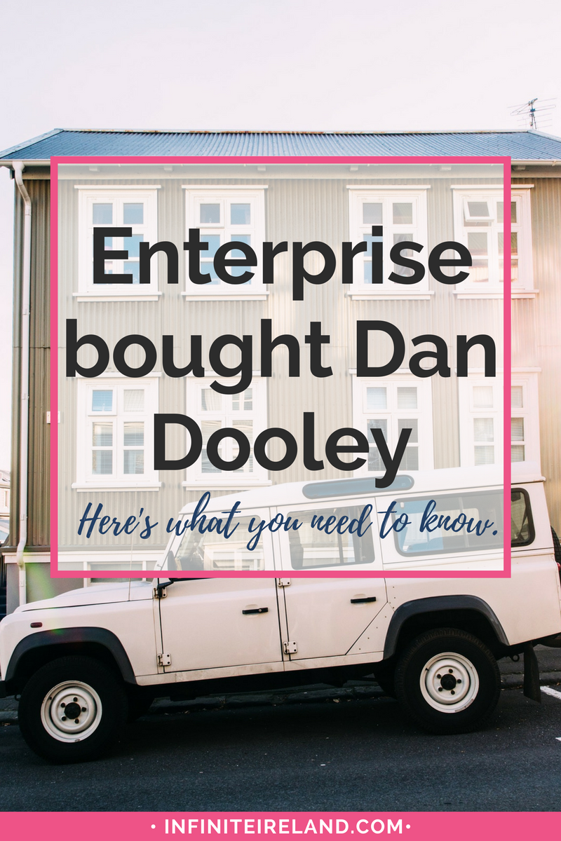 When Enterprise bought Dan Dooley this spring, I was pretty disappointed and had a bunch of questions. I reached out and this is what they had to say...