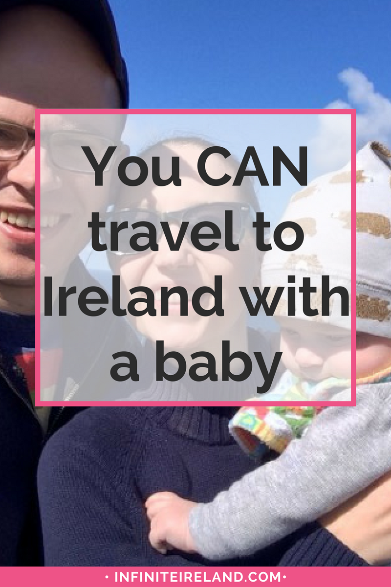 We traveled to Ireland with a baby in May. It was wonderful. We survived the flight and the jet lag. We crushed diaper changes and feedings on the road. We actually managed to  see lots of things. I still can't believe it. Click to find out how we managed it all and still had fun traveling Ireland!