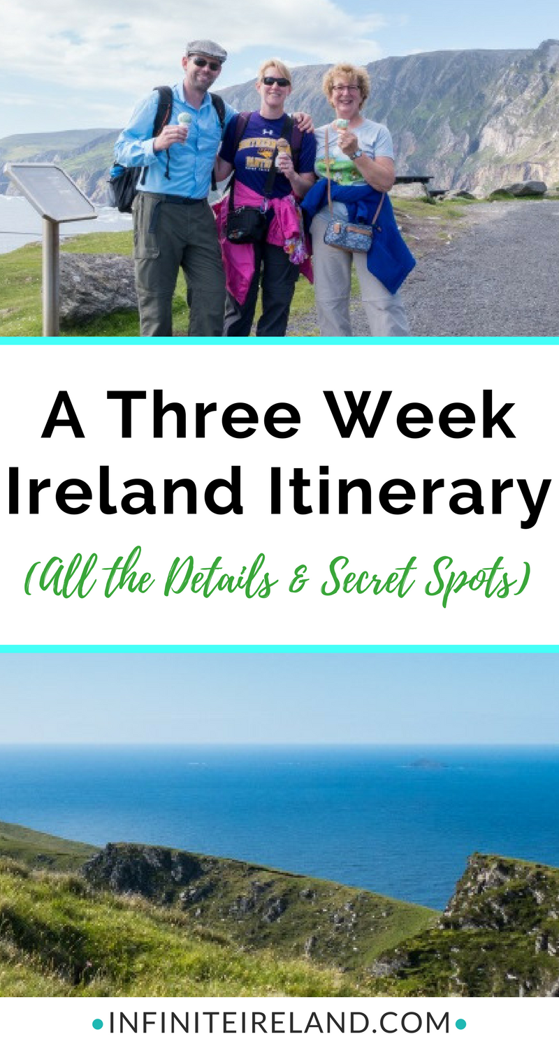 three week ireland itinerary