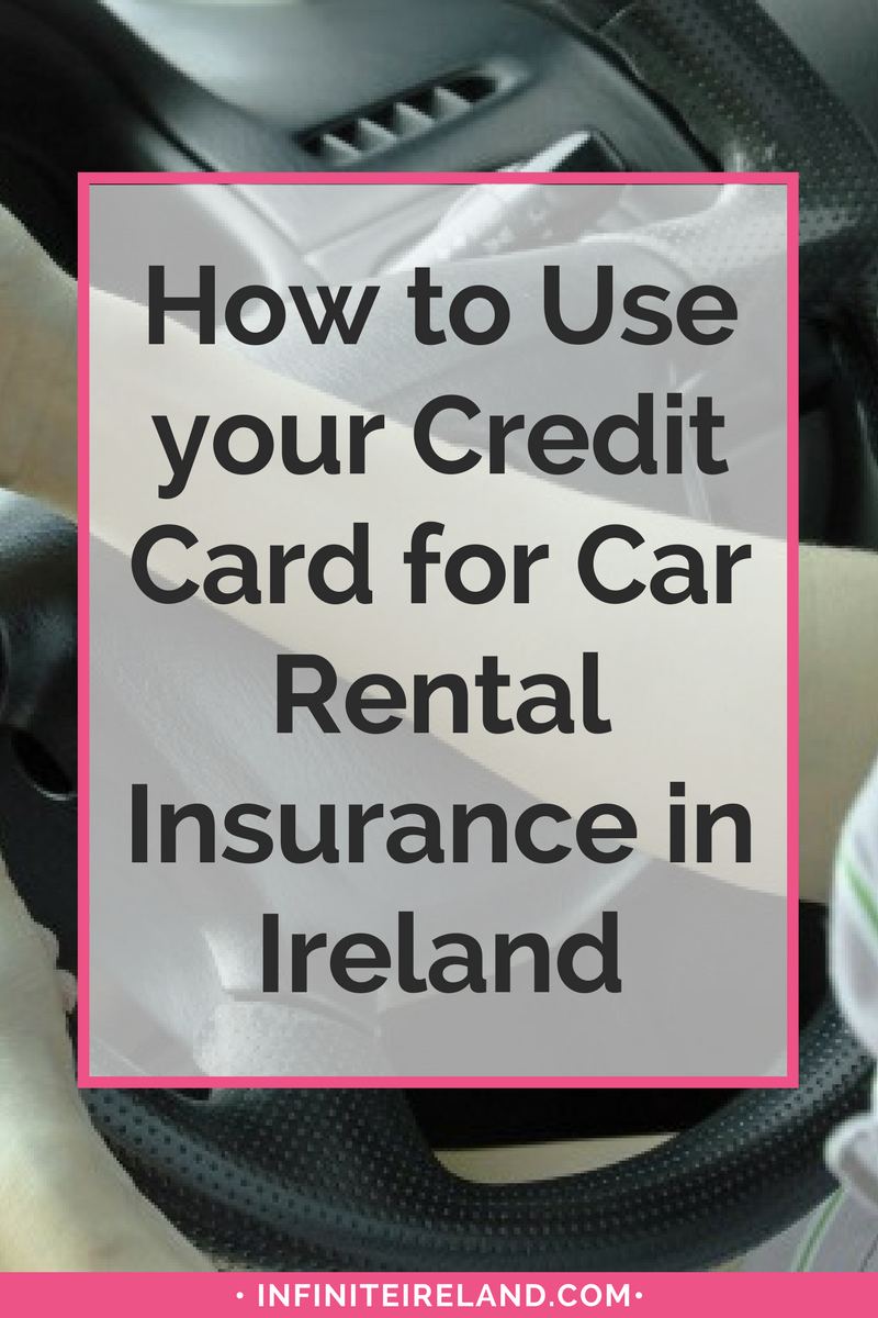 Credit Card for Car Rental Insurance