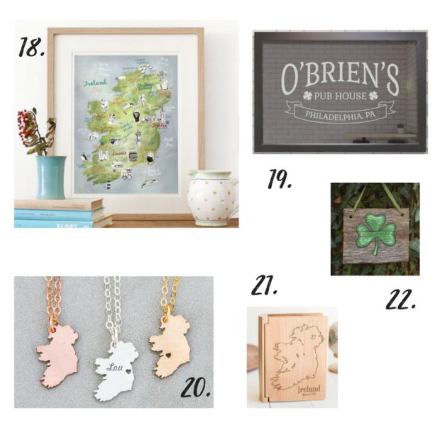 The Nostalgic Ultimate Ireland Gift Guide