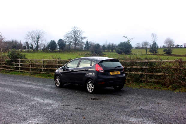 Small Black Car in Ireland