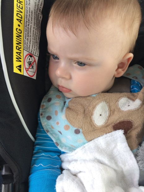 Traveling to Ireland with a baby in a car seat
