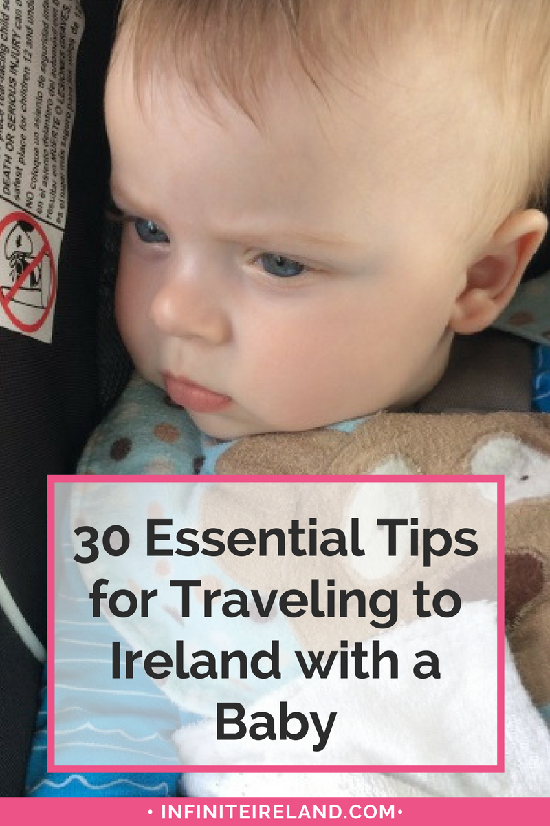 Traveling to Ireland with a Baby