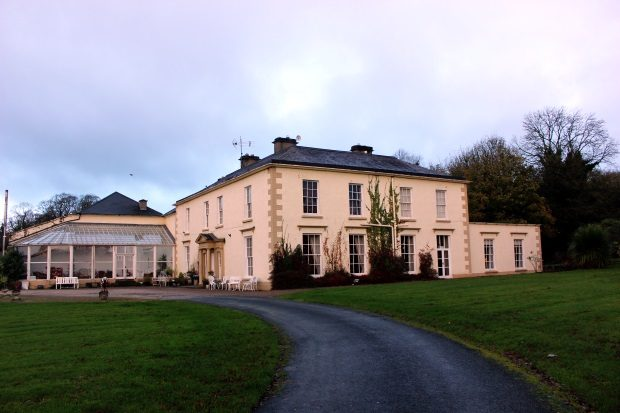 Castle Grove Country House Front Entrance and Atrium Donegal