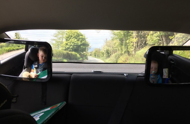 How much does it cost to go to Ireland with car seats?