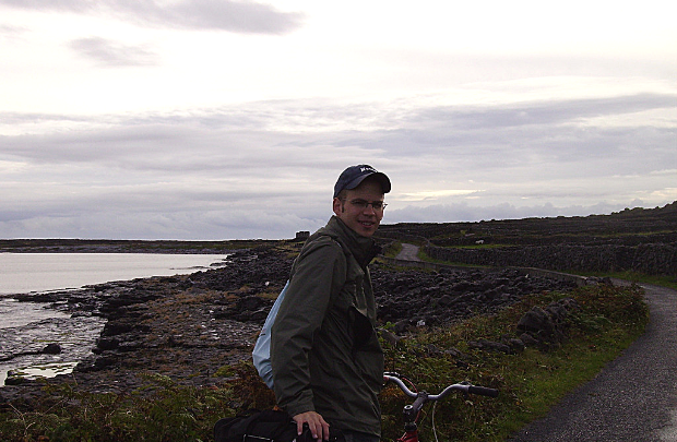 Biking on Inishmore, Co. Galway