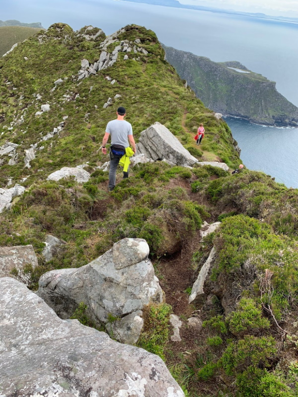 Slieve League Donegal Hill Walking in Ireland