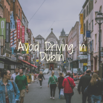 Dublin City Center Pedestrians