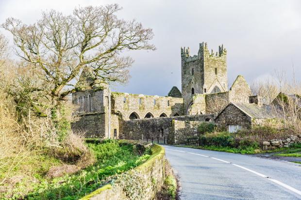 Jerpoint Abbey, Co. Kilkenny Ireland