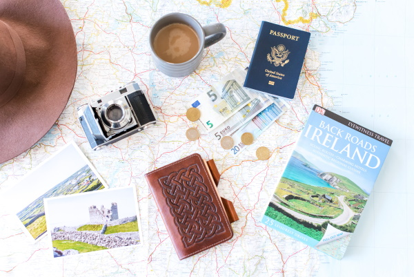 Euros and Ireland Travel Books