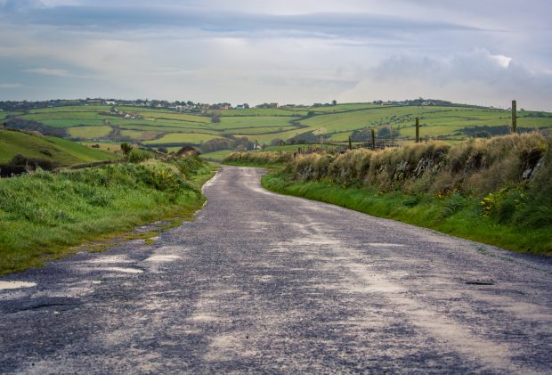 Country Road Dingle Ireland